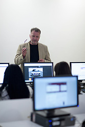 Students using computers in lecture (Credit Image: © Image Source/Albert Van Rosendaa/Image Source/ZUMAPRESS.com)