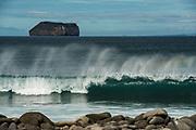 Daphne Minor Island<br /> Seen from North Seymour Island<br /> Galapagos<br /> Ecuador, South America<br /> Seen from North Seymour Island