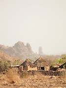Huts on the outskirts of Rhumsiki village in northern Cameroon