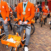NLD/Den Haag/20180323 - Huldiging Olympische en Paralympische medaillewinnaars, Sven Kramer
