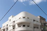 Bauhaus building in wolfson street, Tel Aviv