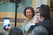 061418 Queen Sofia attends the Delivery of the Mapfre Foundation Awards 2017