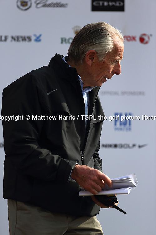 Peter German of IMG who heads the Tournament Set Division during fourth round HSBC Abu Dhabi Championship 2014,Abu Dhabi Golf Club,Abu Dhabi,UAE.