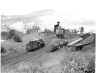 D&RGW #493 going for water and coal from south yards.<br /> D&RGW  Durango, CO