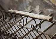 Apartment stairwell railing, Havana, Cuba