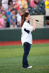 "1 June 2010: National Anthem singer. The Windy City Thunderbolts are the opponents for the first home game in the history of the Normal Cornbelters in the new stadium coined the ""Corn Crib"" built on the campus of Heartland Community College in Normal Illinois."