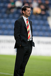 Partick Thistle manager Jackie McNamara..Falkirk 2 v 1 Partick Thistle, 13th August 2011..© pic : Michael Schofield.