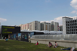 Olympic Village<br /> the housing of the Belgian Team<br /> Olympic Games London 2012<br /> © Dirk Caremans