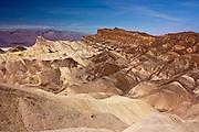 Eroded hills at Zabriski Point, Death Valley National Park, CA
