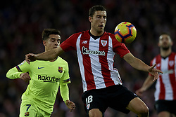 February 10, 2019 - Bilbao, Vizcaya, Spain - De Marcos of Athletic during the week 23 of La Liga between Athletic Club and FC Barcelona at San Mames stadium on February 10 2019 in Bilbao, Spain. (Credit Image: © Jose Breton/NurPhoto via ZUMA Press)