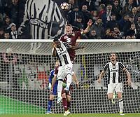 Andrea Belotti Torino, Qwadwo Asamoah Juventus <br /> Torino 06-05-2017, Juventus Stadium, Football Calcio 2016/2017 Serie A, Juventus - Torino, Foto Filippo Alfero/Insidefoto