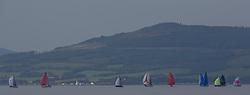 Largs Regatta Festival 2019<br /> <br /> Spread out fleet on the keelboat course.