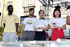 Opening Ceremony LGBTI Pride Festival Madrid 2018 - 04 July 2018