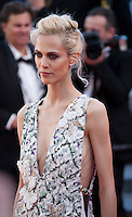 Aymeline Valade at the gala screening for the film The Last Face at the 69th Cannes Film Festival, Friday 20th May 2016, Cannes, France. Photography: Doreen Kennedy