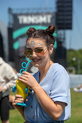 Karen McCeney. Fans in the main arena on Friday 29th June at TRNSMT 2018.