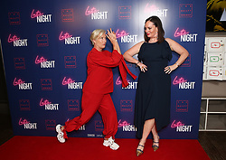 (left to right) Dame Emma Thompson and Deborah Francis-White attending the LATE NIGHT Gala Screening at Picture House Central, London. Picture dated: Monday May 20, 2019. Photo credit should read: Isabel Infantes / EMPICS Entertainment.