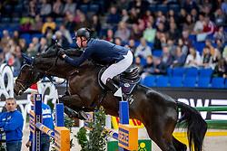 Stevens Mario, GER, Credo 17<br /> Stuttgart - German Masters 2018<br /> © Hippo Foto - Stefan Lafrentz