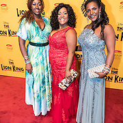 NLD/Scheveningen/20161030 - Premiere musical The Lion King, CPG, Jacqueline Jonkers, Gitty Pregers en ................