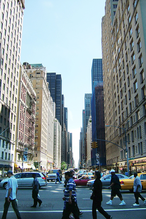 New York, New York. United States. May 29th 2004.6th Avenue and 59th Street