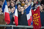 Twickenham, United Kingdom.    Pre. RBS, Six Nations : England   vs France  at the  RFU Stadium, Twickenham, England, <br /> <br /> Saturday  04/02/2017<br /> <br /> [Mandatory Credit; Peter Spurrier/Intersport-images]
