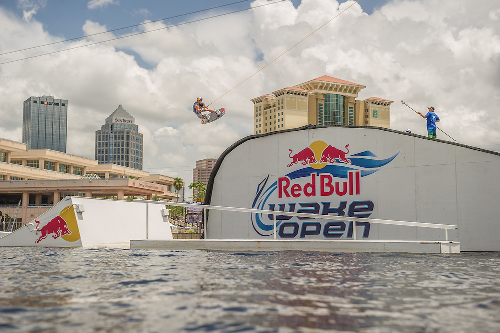 JD Webb Competes at the RedBull Wake Open in Tampa, Florida on July 5th, 2013.