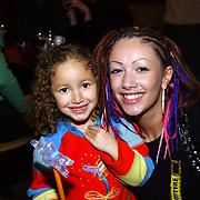 Premiere musical Doornroosje, Dewi Pechler en haar dochter Naomi