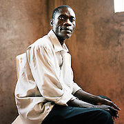 NAIROBI, KENYA – MARCH 11, 2010: Portrait of an African man who is HIV positive.