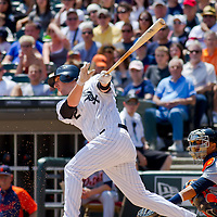 Chicago, IL - June 05, 2011:  Whit Sox, Brent Morel (22) plays against the visiting Detroit Tigers at U.S. Cellular Field on June 5, 2011 in Chicago, IL.
