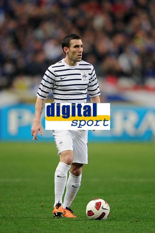 FOOTBALL - FRIENDLY GAME 2010/2011 - FRANCE v CROATIA - 29/03/2011 - PHOTO FRANCK FAUGERE / DPPI - ANTHONY REVEILLERE (FRA)