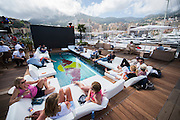 May 23, 2014: Monaco Grand Prix: The Red Bull energy station
