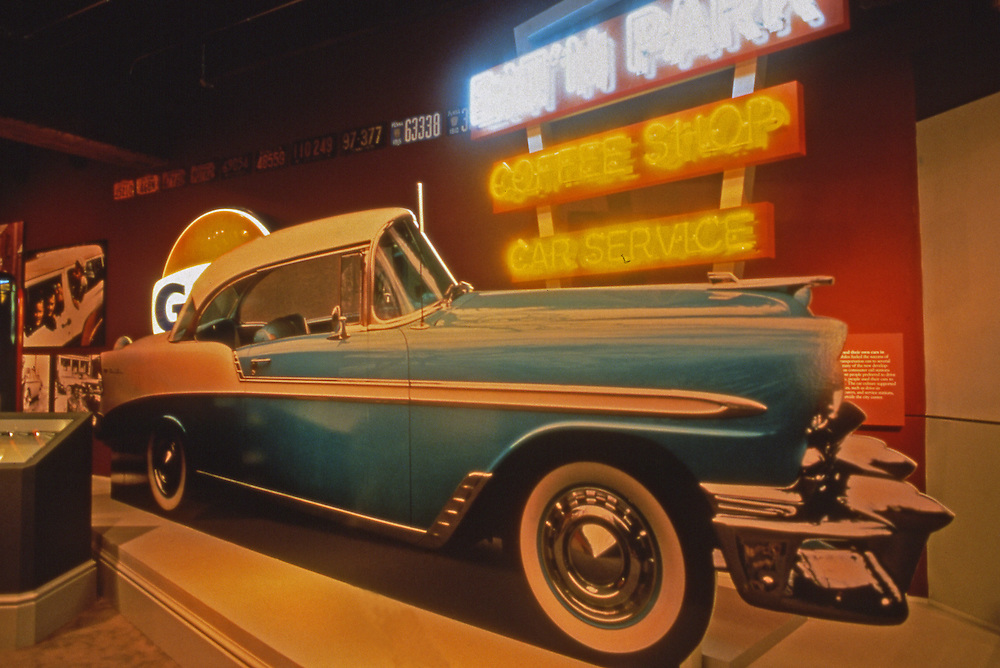 Senator John Heinz Pittsburgh History Center, Classic 1956 Chevrolet Exhibit, Pittsburgh PA