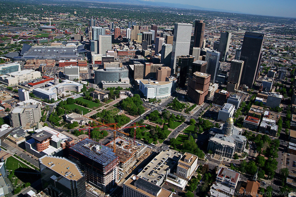 Civic Center featuring Colorado State Capitol & Denver City Hall