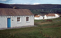 Holiday cottages, Glencolumbkille, Co Donegal, Rep of Ireland, 198009000398b.<br />