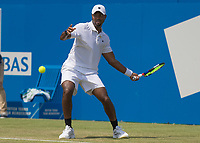 Tennis - 2017 Aegon Championships [Queen's Club Championship] - Day Three, Wednesday<br /> <br /> Men's Singles, Round of 16 -Viktor TROICKI (SRB) Vs Donald YOUNG (USA)<br /> <br /> Viktor Troicki (SRB) in action at Queens Club<br /> <br /> <br /> COLORSPORT/DANIEL BEARHAM