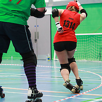 A Christmas Themed Cherry Popper event as The Helves take on The Paindeer at Caderdale College, Halifax, West Yorkshire, 2016-12-03