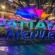 THA/Pattaya/20180723 - Vakantie Thailand 2018, neon reclame