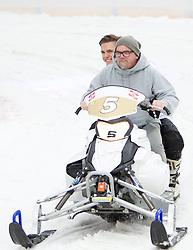 07.12.2014, Saalbach Hinterglemm, AUT, Snow Mobile, im Bild DJ Ötzi // during the Snow Mobile Event at Saalbach Hinterglemm, Austria on 2014/12/07. EXPA Pictures © 2014, PhotoCredit: EXPA/ JFK