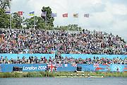 Eton Dorney, Windsor, Great Britain,..2012 London Olympic Regatta, Dorney Lake. Eton Rowing Centre, Berkshire.  Dorney Lake.   ..GBR LM4-.  Silver Medalist Peter CHAMBERS, Rob WILLIAMS, Richard CHAMBERS and Chris BARTLEY.  13:00:42   Thursday  02/08/2012   [Mandatory Credit: Peter Spurrier/Intersport Images]  .