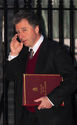 London, February 3rd 2015. Members of the cabinet gather at Downing Street for their weekly meeting. PICTURED: Oliver Letwin, Minister for Government Policy.
