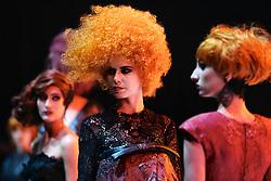 Show Intercoiffure Brasil durante a Hair Brasil 2013 - 12 ª Feira Internacional de Beleza, Cabelos e Estética, que acontece de 06 a 09 de abril no Expocenter Norte, em São Paulo. FOTO: Jefferson Bernardes/Preview.com