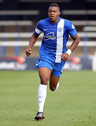 Peterborough United's Britt Assombalonga - Photo mandatory by-line: Joe Dent/JMP - Tel: Mobile: 07966 386802 03/08/2013 - SPORT - FOOTBALL -  London Road Stadium - Peterborough -  Peterborough United v Swindon Town - Sky Bet One