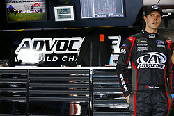 April 27, 2018 - Talladega, Alabama, United States of America - Trevor Bayne (6) hangs out in the garage during practice for the GEICO 500 at Talladega Superspeedway in Talladega, Alabama. (Credit Image: © Chris Owens Asp Inc/ASP via ZUMA Wire)