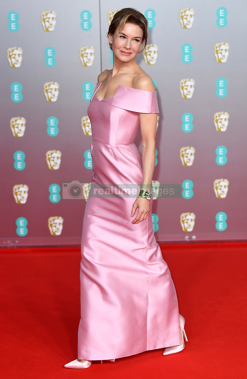 Renee Zellweger attending the 73rd British Academy Film Awards held at the Royal Albert Hall, London. Photo credit should read: Doug Peters/EMPICS Entertainment
