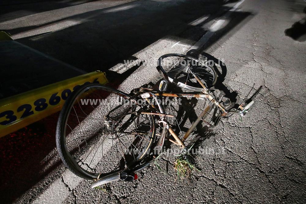 INCIDENTE MORTALE PAOLO CANTELLI INVESTITO IN BICICLETTA A COPPARO