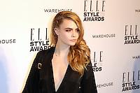 Cara Delevingne, ELLE Style Awards, One Embankment, London UK, 18 February 2014, Photo by Richard Goldschmidt