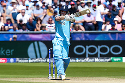 Eoin Morgan of England goes on the attack - Mandatory by-line: Robbie Stephenson/JMP - 03/07/2019 - CRICKET - Emirates Riverside - Chester-le-Street, England - England v New Zealand - ICC Cricket World Cup 2019 - Group Stage