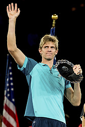September 10, 2017 - New York, New York, USA - SEP 10, 2017: Kevin Anderson (RSA) is the runner-up of the Men's Singles Championship during the 2017 U.S. Open Tennis Championships at the USTA Billie Jean King National Tennis Center in Flushing, Queens, New York, USA. (Credit Image: © David Lobel/EQ Images via ZUMA Press)