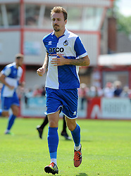 Chris Lines of Bristol Rovers - Mandatory by-line: Neil Brookman/JMP - 25/07/2015 - SPORT - FOOTBALL - Cheltenham Town,England - Whaddon Road - Cheltenham Town v Bristol Rovers - Pre-Season Friendly