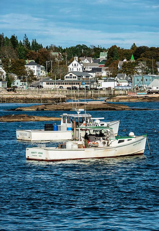 Harbor, Stonington, Deer Isle, Maine