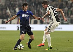 October 14, 2017 - Turin, Italy - Marco Parolo during Serie A match between Juventus v Lazio, in Turin, on october 14, 2017  (Credit Image: © Loris Roselli/NurPhoto via ZUMA Press)
